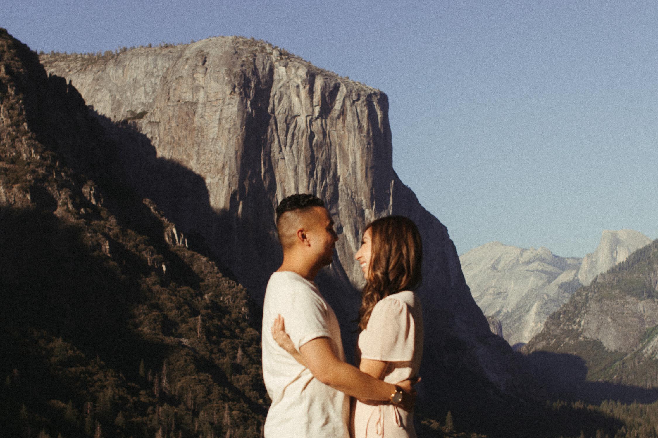 Yosemite Engagement Photographer