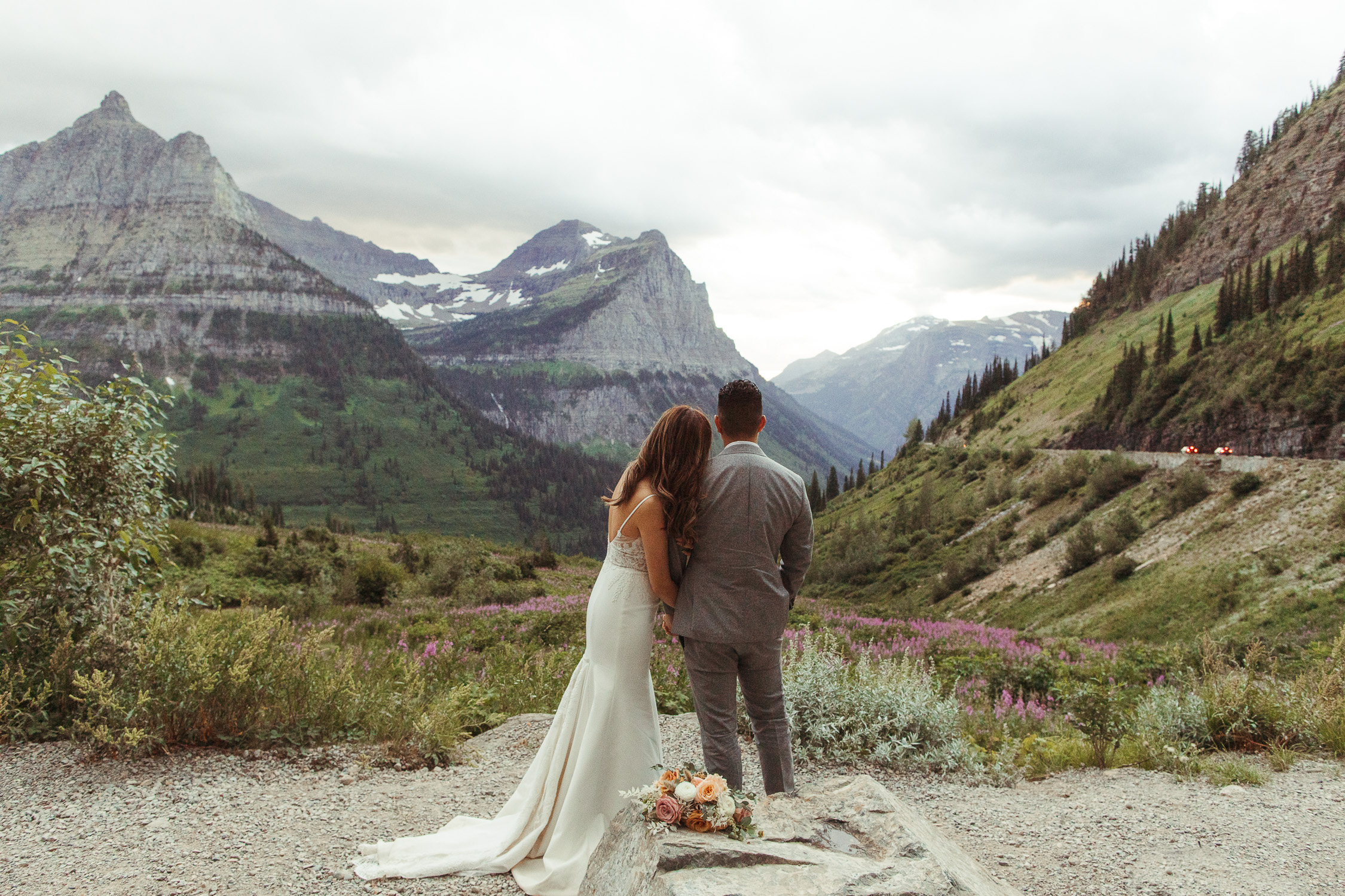 Glacier National Park Elopement Photographer