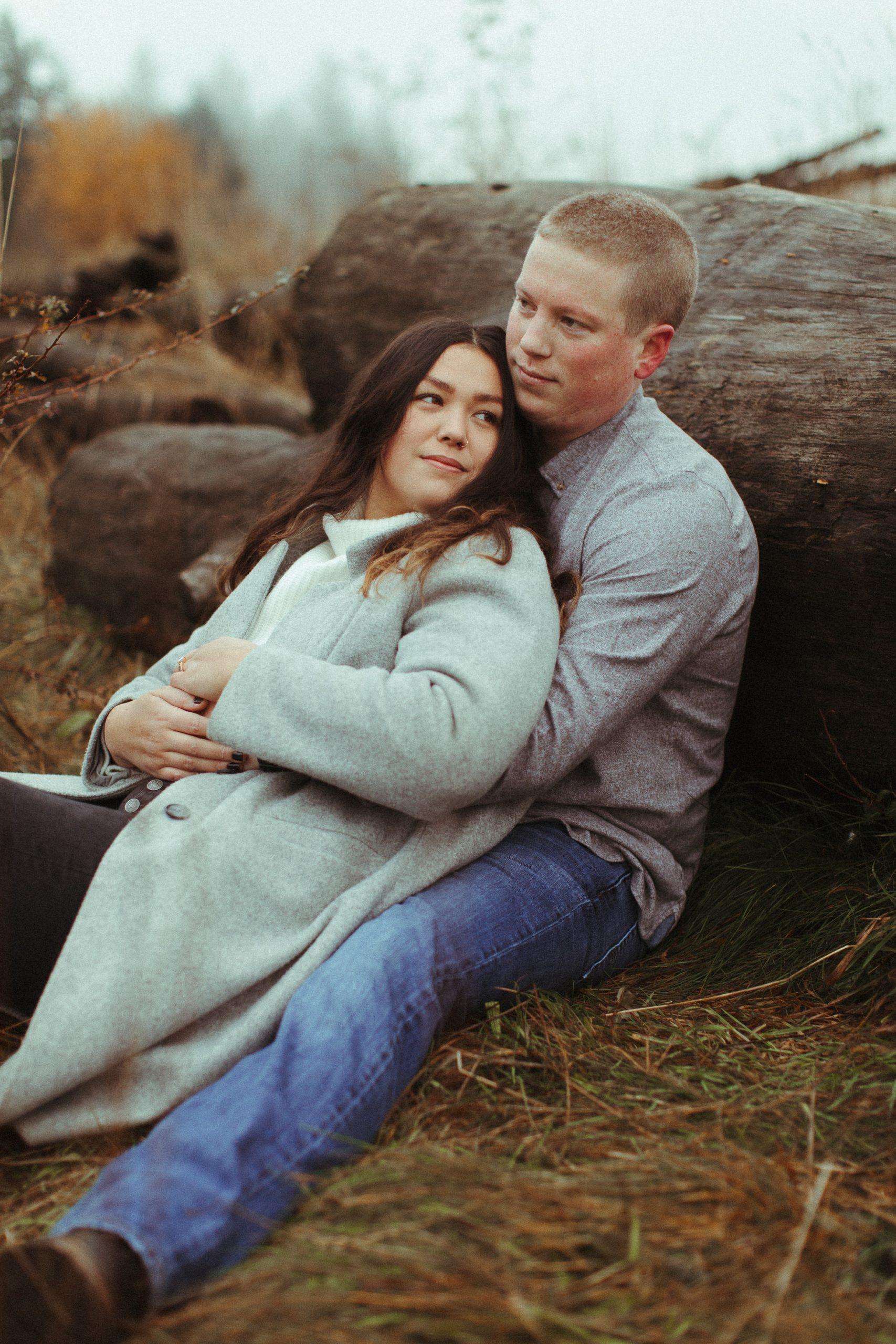 Brooke and Keaton Portland Oregon Engagement Session